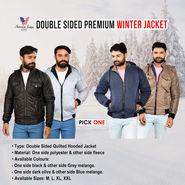 American Indigo Double Sided Premium Winter Jacket - Pick Any 1