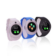Round Smart Watch Mobile
