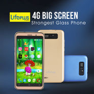 LifePlus 4G Big Screen Strongest Glass Phone