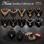 Noori Jewellery Collection with 4 Assorted Freebies