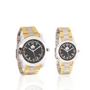 Scottish Club Couple Watch Combo - Black Dial