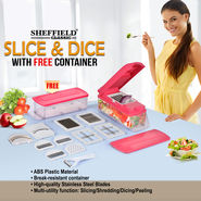 Sheffield Slice & Dice with Free Container