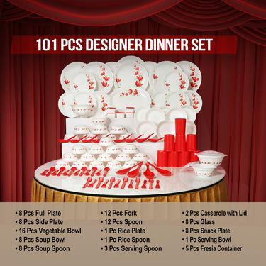 101 Pcs Designer Dinner Set