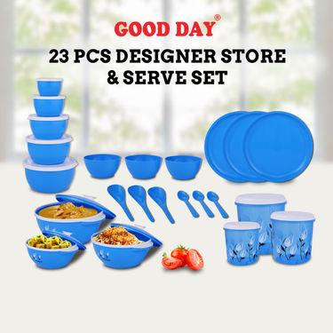 23 Pcs Designer Store & Serve Set