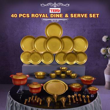 40 Pcs Royal Dine & Serve Set