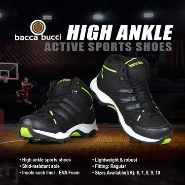 Bacca Bucci High Ankle Active Sports Shoes