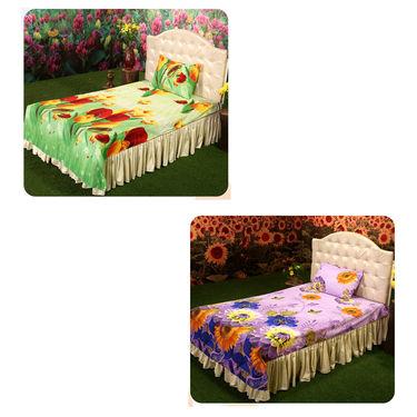 Bloom 3D - 8 Bedsheets Combo (4DSBS16)