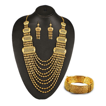 Gold Manimala Jewellery Set