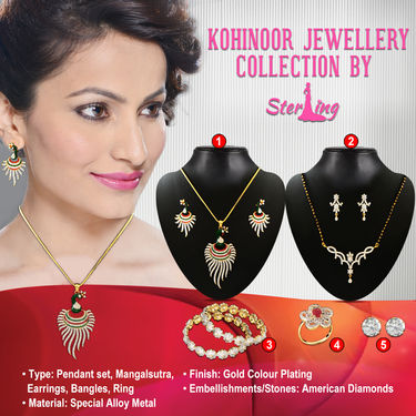 Kohinoor Jewellery Collection by Sterling
