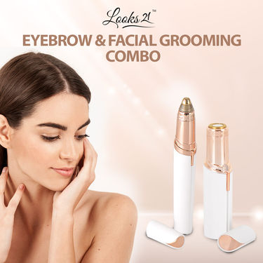 Looks21 Eyebrow & Facial Grooming Combo