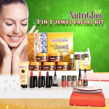 Nutriglow 3 in 1 Jewel Facial Kit