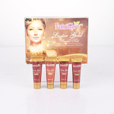 Nutriglow Double Dhamaka Facial Combo with Free 5 in 1 Massager + Pouch + Head Band