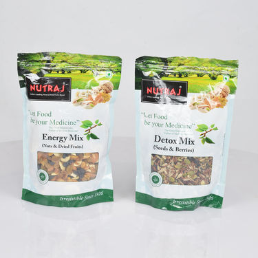 Pack of 2 Dry Fruits, Seeds & Berries