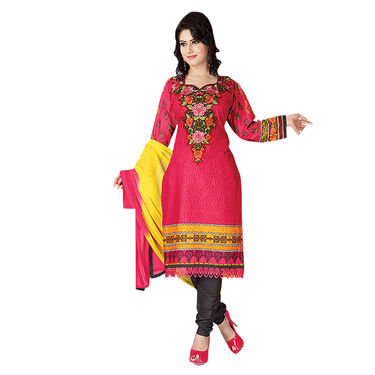 Pack of 7 Assorted Printed Dress Material by Pakhi (7PDM9)