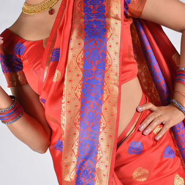 Pick Any One Kanjeevaram Silk Saree by Zuri (KSS17)