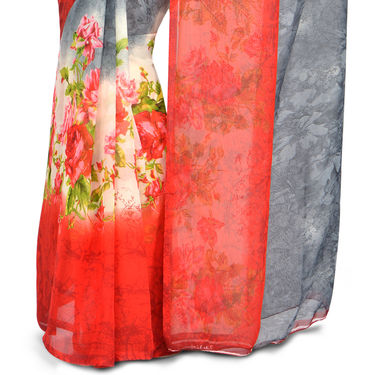 Radhika Pack of 7 Printed Georgette Sarees (7G27)