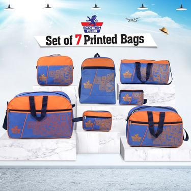 Scottish Club Set of 7 Printed Bags