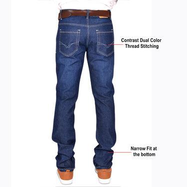 American Indigo Vintage Blue Fashion Jeans - Pack of 3