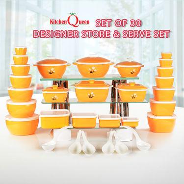 Set of 30 Designer Store & Serve Set