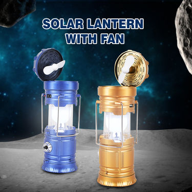 Solar Lantern with Fan