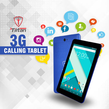 Tiitan 3G Calling Tablet