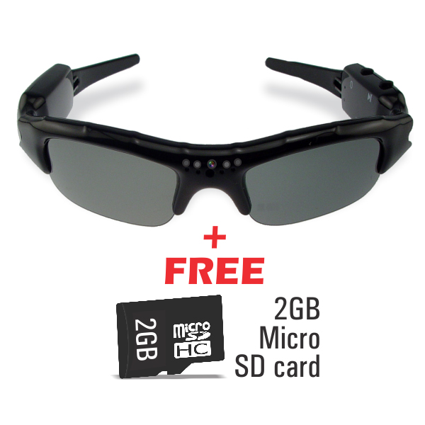 e2462c935927 Buy Stylish Sunglasses with In-Built Video Recording Camera Online at Best  Price in India on Naaptol.com